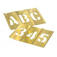Buy cheap Hand Tools Brass Interlocking Stencils Clean Up Easily With Paint Solvent from wholesalers