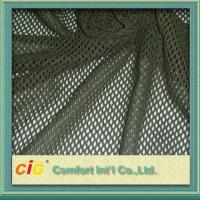 Buy cheap White Red Blue Fabric Seat / Shoe Polyester Mesh Fabric , Honeycomb Mesh Fabric product
