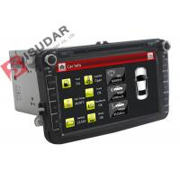 Buy cheap Double Din 8 Inch VW Jetta Dvd Player , VW Dvd Gps Car Radio Support TPMS Kit from wholesalers