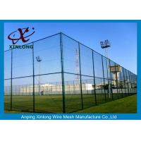 3 5mm Pvc Coated Chain Link Fence Weave Style Oem Odm