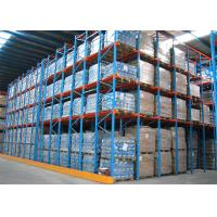 Double Entrance Drive In Industrial Shelving Units For High Density Pallet Storage