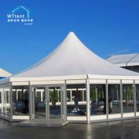 Buy cheap Unique Hexagonal Marquee Steel Plates Wall For Birthday Party from wholesalers