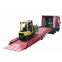 Buy cheap 10tons Forklift Mobile Hydraulic Yard Ramp from wholesalers