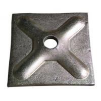 Buy cheap Square Pressed Scaffolding Accessories Tie Rod Washer Plate Tie Rod Nut and Waller Plate from wholesalers