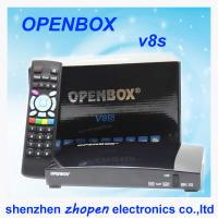 Buy cheap hd satellite tv decoder openbox v8s support web tv from wholesalers