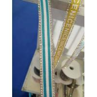 Buy cheap Hot Fix Strips be Studded with Rhinestones Strass Glittering Banding Weave Iron-on Belt from wholesalers