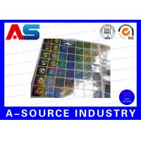 Buy cheap Anti - Fake Security Hologram Stickers For 10ml Vial Label Boxes from wholesalers
