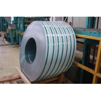 China 201 / 304 / 410 Cold Rolled Stainless Steel Strips PE Film For Chemical Industry on sale