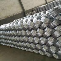 Buy cheap Zinc coating 0.9mm 20 Gauge Hot Dip Galvanized Iron Wire for Mesh Weaving product