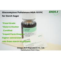 Buy cheap Pullulanase Enzyme 800B U / ml , Glucoamylase120,000U/ml Enzymes For Starch Sugar Production from wholesalers
