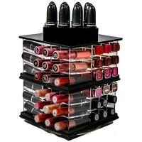 Buy cheap Acrylic nail polish flooring stand display rack from wholesalers