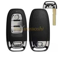 Buy cheap Audi 3 Buttons Remote Key Shell Replacement Uncut Black Smart Key Case product
