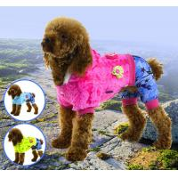 Buy cheap Pet clothes flush soft warm apparel dog clothes from wholesalers