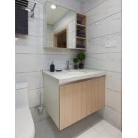 Buy cheap PVC Board Hotel Bathroom Furniture Bathroom Wall Mounted Cabinets With Mirror from wholesalers