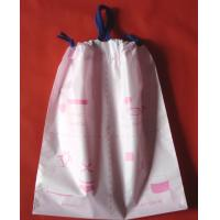 Buy cheap Luxury Women's Plastic Drawstring Cosmetic Bag Customized , Pink from wholesalers