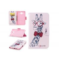Buy cheap Lovely Giraffe Card Pocket Phone Case , Cell Phone Wallet Case For Huawei product