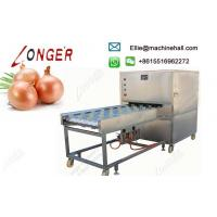 Buy cheap Commercial Stainless Steel Onion Root Cutting Machine Manufacturer from wholesalers