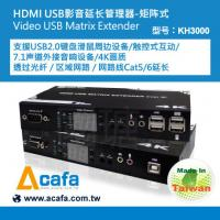Buy cheap UHD 4K HDMI USB2.0 KVM switch +Matrix console Extender over IP and Fiber Extender product