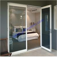 Buy cheap Opening door with grey glass,double opening door,french doors,multi point lock opening doo from wholesalers