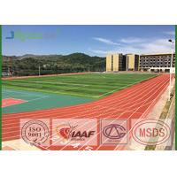 Buy cheap Preformed Running Track Flooring , Outdoor Rubber Flooring For College from wholesalers