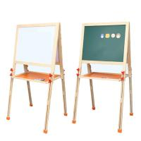 Buy cheap New arrival foldable kids children multifunctional lifting double side magnetic wooden drawing board from wholesalers