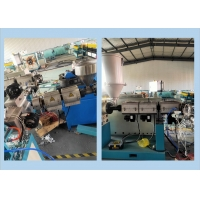 Buy cheap Single Wall Corrugated PE Pipe Production Line / Corrugated Pipe Making Machine from wholesalers