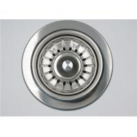 Buy cheap Durable Kitchen Sink Drain Filter , Stainless Steel Kitchen Sink Stopper from wholesalers