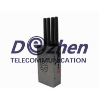 Buy cheap Grey Portable High Power 4G LTE Mobile Phone Jammer from wholesalers