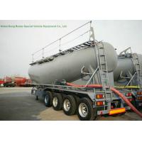 Buy cheap 68-70cbm 4 Axle Tank Semi Trailer , Bulk Cement Trailer High Working Performnce from wholesalers