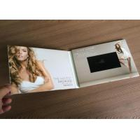 Buy cheap Newest 4.3'' screen digital video book LCD video brochure card, A5 size tri-folded brochures With Built In Memory from wholesalers