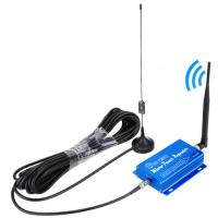 Buy cheap GSM 900MHz F Plug Mini Mobile Phone Signal Repeater with Sucker Antenna from wholesalers
