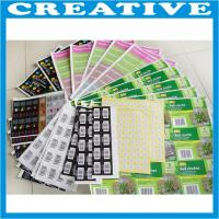 Buy cheap self adhesive paper label product