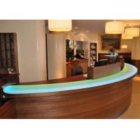 Buy cheap Pearl Glossy Decorative Jade Stone Countertops / Bar Tops For Hotel from wholesalers