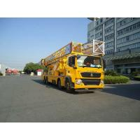 Buy cheap HOWO 8X4 22m Platform Bridge Inspection Vehicle Easy access to any position of your bridge from wholesalers