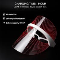 Buy cheap Phototherapy Mask 3 Colors LED Light Beauty Instrument Facial SPA Treatment Anti-aging Anti Acne Wrinkle Face Mask onlin from wholesalers