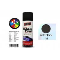 Buy cheap Matt Black Color Removable Rubber Spray Paint , Anti - Sagging Peelable Car Paint from wholesalers