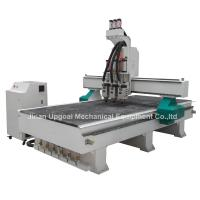 Buy cheap 3 Spindles Auto Tool Changer ATC Furniture Wood Relief CNC Machine product