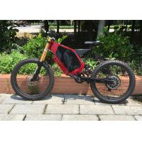 Buy cheap Flexible Off Road Electric Mountain Bikes High Speed With Brushless Motor from wholesalers