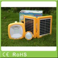 Buy cheap China manufacturer 3.4W 9V with bulbs portable led solar rechargeable lantern from wholesalers