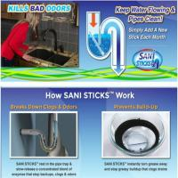Buy cheap Sani Sticks drain sticks Sewer cleaning Rod Drain Cleaner and Deodorizer Unscented from wholesalers