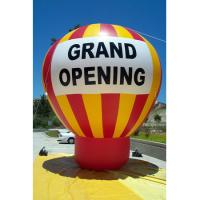 Buy cheap Giant ground helium inflatable advertising balloon for event promotion grand letter from wholesalers