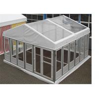 Buy cheap Luxurious Clear Span Frams Structures Glass Wall Tents Shelter Pavilion from wholesalers