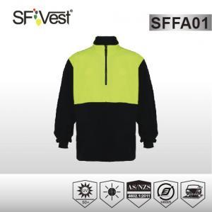 Buy cheap Long sleeve Workmens warm high vis sweatshirts AS / NZS 1906 4 2010 product