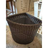 Buy cheap PP Plastic Laundry Basket Dirty Clothes Basket Portable Toys Debris Snack Storage rolling woven grey wicker laundry from wholesalers