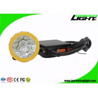 China High Lumen Rechargeable LED Mining Light For Hunting Led Mining Headlamp on sale
