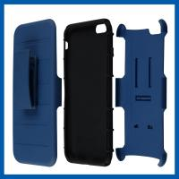 Buy cheap Custom Protective Iphone Cases With Kickstand And Removable Holster Swivel Belt Clip from wholesalers