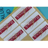 Buy cheap Strong Adhesive Waterpoof Domed Decals Rectangle For Carpet Logo product
