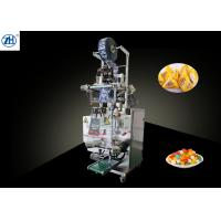 Buy cheap Vertical Triangle Shaped Bag Snack Packaging Machine With Laminated Film Packing Material from wholesalers