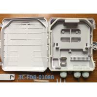Buy cheap Outdoor 8 Cores Fiber Optic Terminal Box For Wall Mount And Pole Mount product