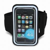 Buy cheap Sports Armband Case/Holder for iPod/iPhone 4/4S, Lightweight, Various Colors are Available from wholesalers
